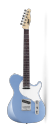 Cort & Manson Guitar Works Classic TC Electric Guitar in Blue Ice Metallic finish